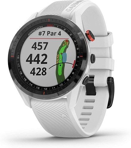 Garmin Approach S62 Bundle, Premium Golf GPS Watch