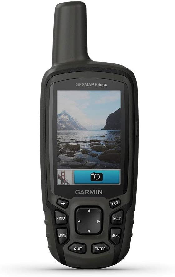 Handheld GPS with Altimeter, Compass and 8 MP Camera, Preloaded with TopoActive Maps
