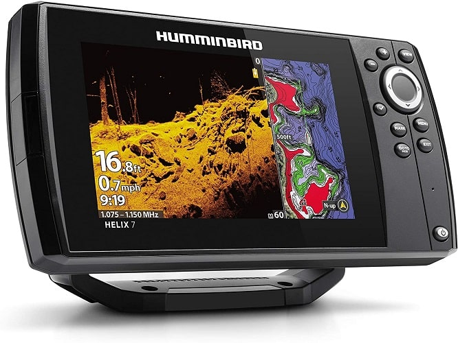 Humminbird 410940-1 HELIX 7 CHIRP MDI (MEGA Down Imaging) GPS G3 Fish Finder