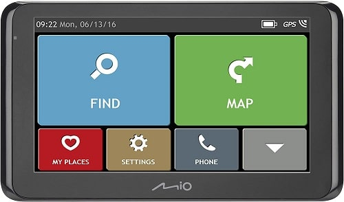 MIO Spirit 8670 LM FEU Car Navigation System - Black