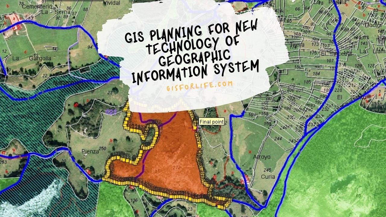 GIS Planning Technology and GEOGRAPHIC INFORMATION SYSTEM