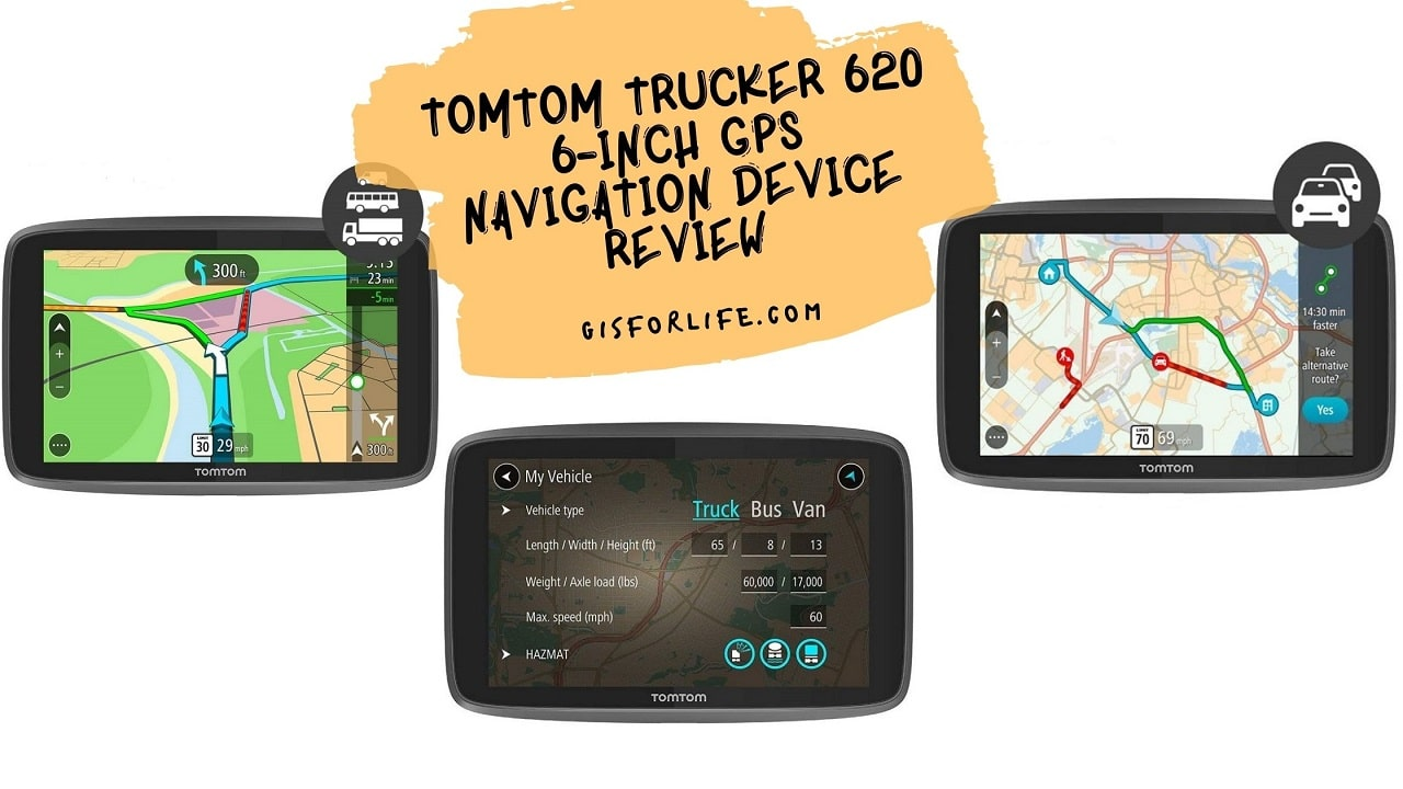 TomTom Trucker 620 6-Inch Gps Navigation Device Review