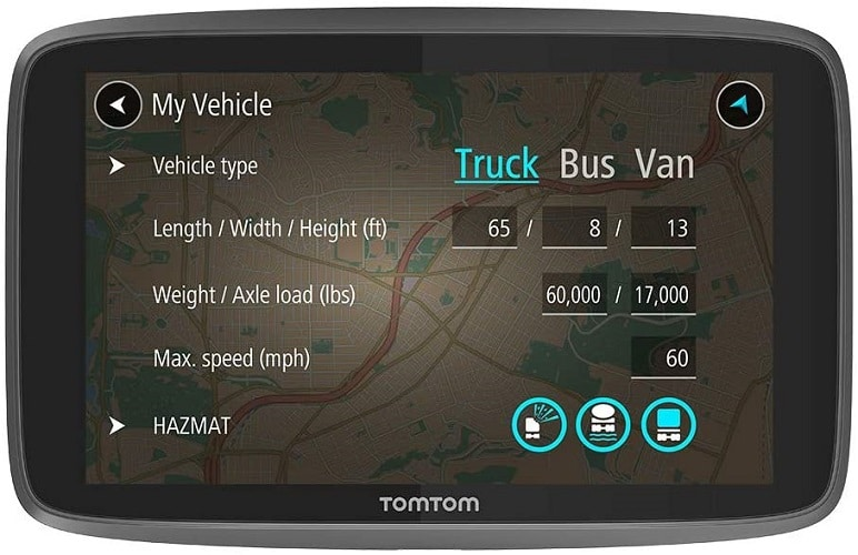 TomTom Trucker 620 6-Inch Gps Navigation Device for Trucks with Wi-Fi Connectivity