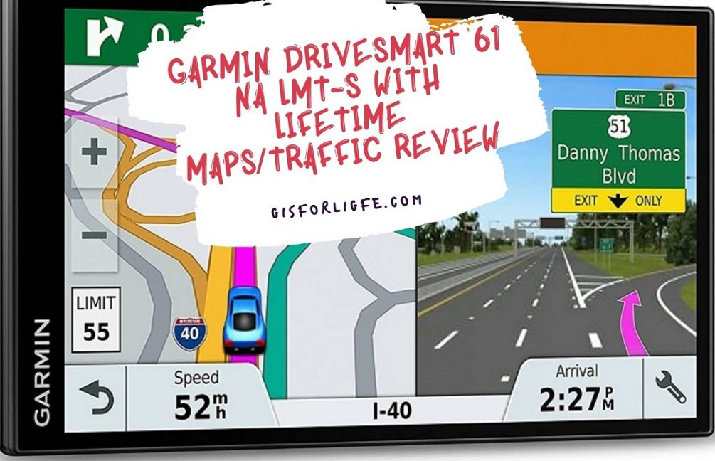 Garmin DriveSmart 61 NA LMT-S with Lifetime MapsTraffic Review