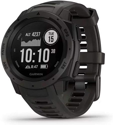 Garmin 010-02064-00 Instinct, Rugged Outdoor Watch with GPS