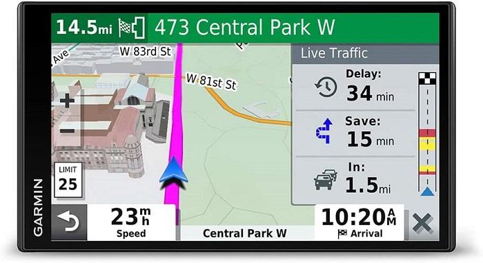 Garmin DriveSmart 65, Built-In Voice-Controlled GPS