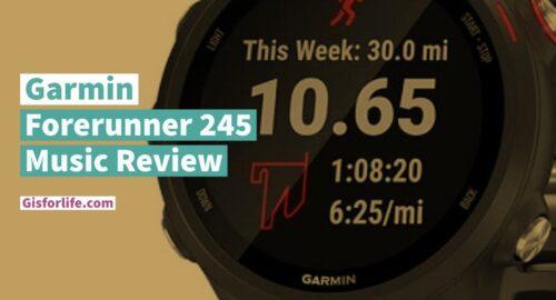 Garmin Forerunner 245 Music Review