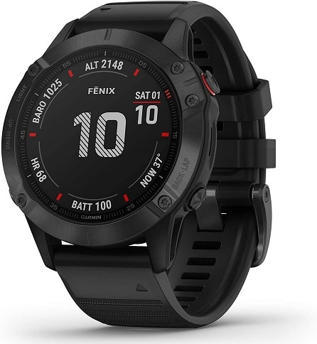 Garmin fenix 6 Pro, Premium Multisport GPS Watch
